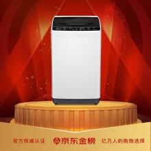 TCL 5.5公斤 全自动波轮小型迷你洗衣机 一键脱水 租房必备洗衣机 小型便捷(亮灰色)XQB55-36SP
