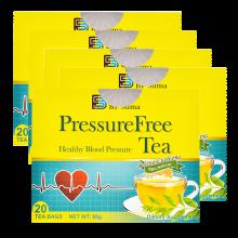 BFSUMA澳玛家平衡血压罗布麻降压茶调节血压中老年养生食品保健茶 美国进口20袋/盒 5盒装