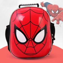 麦斯卡儿童轮滑包3D立体蛋壳包 幼儿园学前班双肩运动背包轮滑包袋 凯蒂猫 头盔护具包-蜘蛛侠