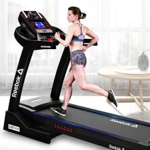 Reebok/锐步ZJET430黑色跑步机家用款小型静音减震电动折叠健身房器材