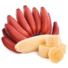 NANGUOXIANSHENG 果沿子 新鲜红美人香蕉红皮香蕉 约5斤装 23.8元包邮(需用券)