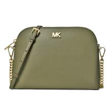 迈克.科尔斯(MICHAEL KORS)MK Crossbodies系列皮革链条贝壳包 小号 橄榄绿色 32S9GF5C3L SOFT PINK