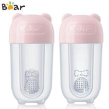 京东超市小熊电器(Bear)婴儿牙刷  手指套牙刷 训练软毛乳牙刷 新生幼儿硅胶口腔清洁2个装辛蒂粉MX-Y0002