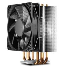 九州风神(DEEPCOOL) 玄冰400S CPU散热器(多平台/支持AM4/4热管/无光12CM风扇/附带硅脂)
