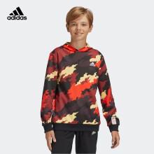 adidas阿迪达斯2020春夏男大童套头衫GE0547喜水库红/黑色/白A152/建议身高152cm