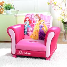 dgbaobei迪士尼儿童沙发 冰雪奇缘公主米妮 卡通幼儿宝宝椅 小可爱沙发 布艺小沙发椅 幼教用品 迪士尼公主5布艺单人沙发
