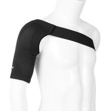 京东超市D&M日本进口护肩膀运动健身肩周保暖防护男女透气加压运动护具男女通用护肩套AT-4901黑色M胸围(78-88cm)护肩