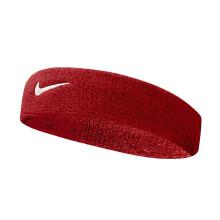 京东超市 NIKE耐克运动吸汗带头带 网球篮球护额头箍跑步头巾导汗带 擦汗健身束发带N0001544620OS三色 红色白勾