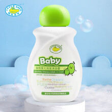 京东超市鳄鱼宝宝(CrocoBaby)婴儿洗发沐浴露 橄榄儿童洗沐二合一100g