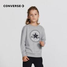 Converse匡威童装男童套头卫衣儿童经典上衣打底衫 8666 岩岭灰 110(5)