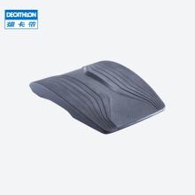 迪卡侬 健腹垫健身瑜伽便携式仰卧起坐板垫腰腹部训练腹肌板CROB 深灰色(练腹不伤腰)