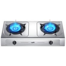 华帝(VATTI)家用台式燃气灶具 煤气灶双眼灶 大火力 不锈钢 JZT-i10013T(天然气)