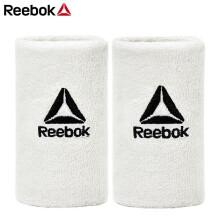 京东超市 锐步(Reebok) 护腕 透气男女运动羽毛球毛巾护手腕 吸汗擦汗健身护腕短款 RASB-11020WH 白色 长款 白色