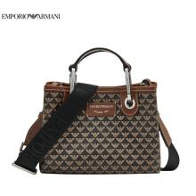 阿玛尼EMPORIO ARMANI奢侈品21春夏EA女士背提包 Y3D176-YFG5E COFFEE-85172咖色 U