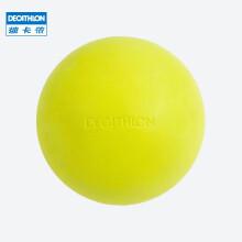 迪卡侬按摩球筋膜球瑜伽健身深层肌肉放松足底手腕康复训练CROB 柠檬黄