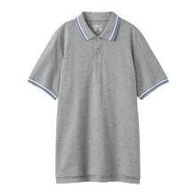 班尼路(Baleno)polo衫2021夏季短袖polo衫男生翻领t恤男宽松休闲保罗衫 82E灰色 XXXL