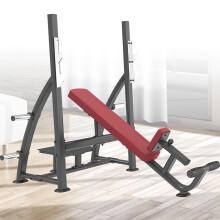 康强奥林匹克上斜练习椅商用健身器材健身房团购综合训练器 6037