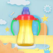 京东超市贝亲(pigeon) 吸管杯 双把手 婴儿水杯 儿童水杯 宝宝水杯 黄色 9个月以上 180ml DA45