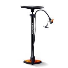 凯速打气筒多功能高压自行车篮球足球气球游泳圈充气筒美英法嘴橙黑色