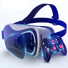vr眼镜看电影 ugp手机专用VR眼镜体感��r虚拟现实用品3d通用性游戏机4d暴风魔镜一体机ar影院 【VR眼镜-带遥控版-VR】-【纳米护眼沉浸版】