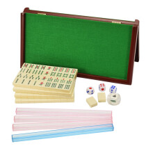 御圣折叠迷你麻将桌台家用迷你旅行麻将牌23mm便携小麻将
