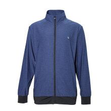 波特秋季新款男士外套开衫吸湿排汗清爽舒适薄外套 807913-2深蓝灰 L