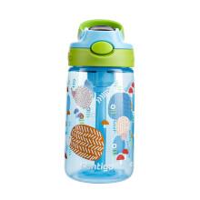 京东超市 美国contigo康迪克儿童吸管塑料水杯夏季运动便携水杯400ml外星人HBC-GIZ172 【普惠版】刺猬