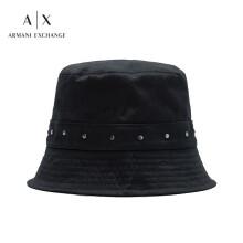 阿玛尼ARMANI EXCHANGE奢侈品21春季AX女士帽子 944102-1P102 BLACK-00020黑色 U