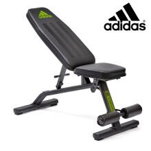 阿迪达斯(adidas)哑铃凳 多功能仰卧起坐健腹肌板 家用卧推平板椅ADBE-10225