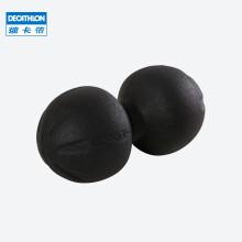 迪卡侬筋膜球放松肌肉按摩球足底脚肩颈弹力带老人保健手握小球IA 腰椎按摩花生双球