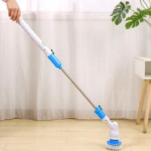 雅高 电动清洁刷 多功能长柄家务清洁刷套装浴室卫生间地板瓷砖缝隙硬毛洗地刷子