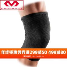 美国McDavid迈克达威护膝运动健身装备男女保护膝盖5211 黑色 M(35.6-38.1cm)
