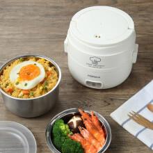 康佳(KONKA)KGZZ-2160 电热饭盒  一机双胆 双层设计  食品级不锈钢内胆