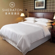 喜来登床上用品 五星级酒店60支四件套 全棉贡缎 床笠款 1.8m(6英尺)床