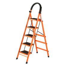 怡奥 梯子 人字梯 折叠梯 家用加厚折叠六步梯 五步梯YA005T