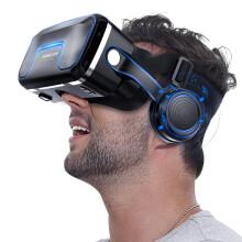 【京闪配送】千幻魔镜六代VR升级版虚拟现实眼镜 vrshinecon手机3D眼镜 黑色