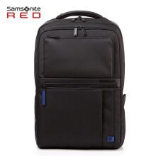 Samsonite/新秀丽电脑包 商务简约双肩包15英寸休闲时尚背包男GG4 黑色