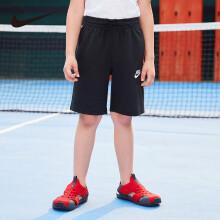 京东超市【商场同款】耐克(Nike)童装男童运动短裤儿童夏季五分裤NY2022093PS-002正黑色130(7)