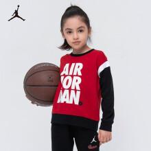耐克(Nike Air Jordan)男童套头卫衣大童春款运动上衣外套JDG-FW-A424 杰斯特红150(M)