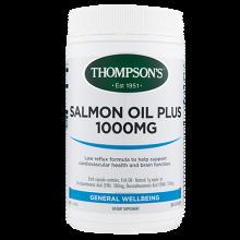 新西兰直邮 汤普森Thompsons深海三文鱼油软胶囊300粒 血脂预防血栓降低胆固醇
