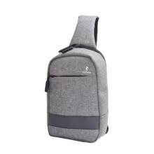 PLOVER新款商务男士胸包GD300210 浅灰色
