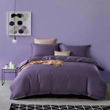 埃迪蒙托匹马棉素色床上四件套纯棉全棉80支被单四件套床笠1.8米 8052(床笠款) 1.5m(5英尺)床