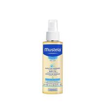 妙思乐Mustela按摩油100ml 抚触油 润肤油 婴儿油 法国原装进口