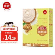 京东超市伊威(Eastwes)婴幼儿辅食宝宝米糊津维多核桃味高铁米粉200g(6个月以上适用)