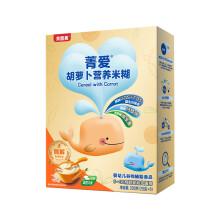 京东超市贝因美 (Beingmate)菁爱胡萝卜营养米糊 酶解专利 婴幼儿辅食宝宝高铁绿色大米粉(6-36个月适用)200g