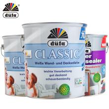 都芳(DUFA) 都芳漆 德国进口晶典内墙乳胶漆 水性油漆涂料 墙面漆白色套装15L