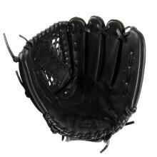 棒球手套男英途etto投手内外野成人儿童少年学生左右手打击手套 左M-11.5【黑色牛皮】