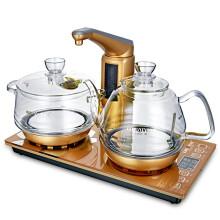 金灶(KAMJOVE) 全智能自动上水电热水壶 全自动电茶炉 玻璃茶艺壶 整套茶具G9 20*37