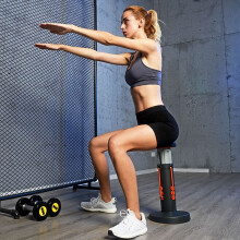 深蹲器深蹲机深蹲助手健身器材天扬锻炼臀部训练腹肌大腿翘臀创新式蹲不倒 橙色
