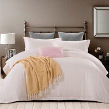 埃迪蒙托匹马棉素色床上四件套纯棉全棉80支被单四件套床笠1.8米 8056(床单款) 1.5m(5英尺)床